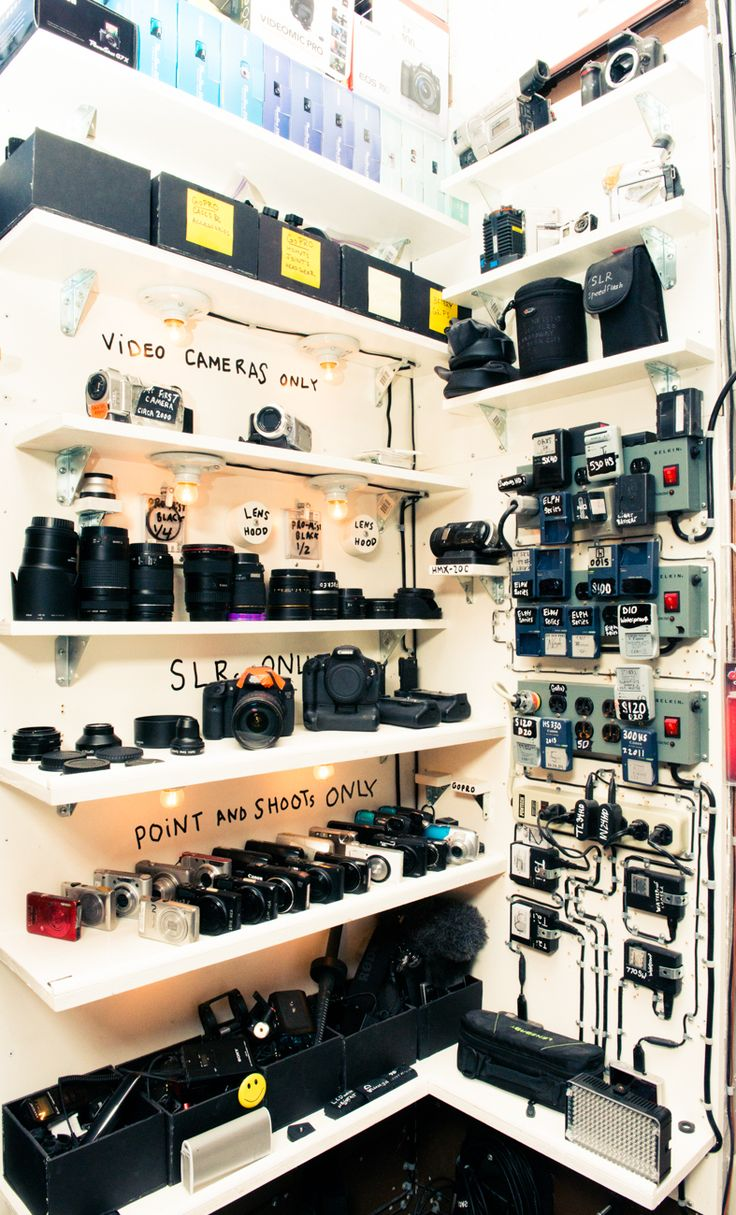 "Now this is how you organise equipment! -- ""I have no loyalty to my [camera] gear."" - Casey Neistat"