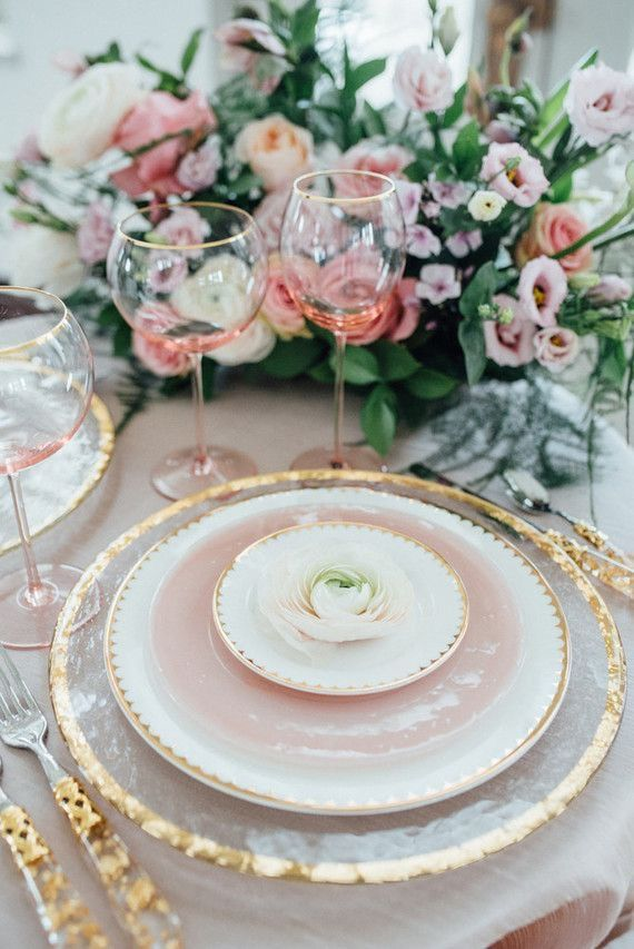 Beautiful Table Setting For A Tea Party Teatime Pink Table Christmas Table Decorations Centerpiece Beautiful Table Settings