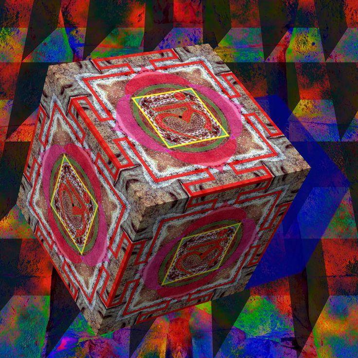 Living on the edge :) Root Chakra Mandala  http://julianventer.com #JulianVenter #DigitalArt