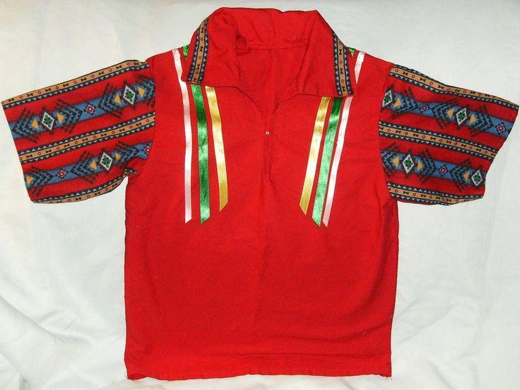 Ribbon shirt, boys small