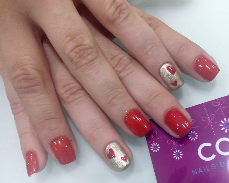 Gelish-red Tigress knows better & Give me gold