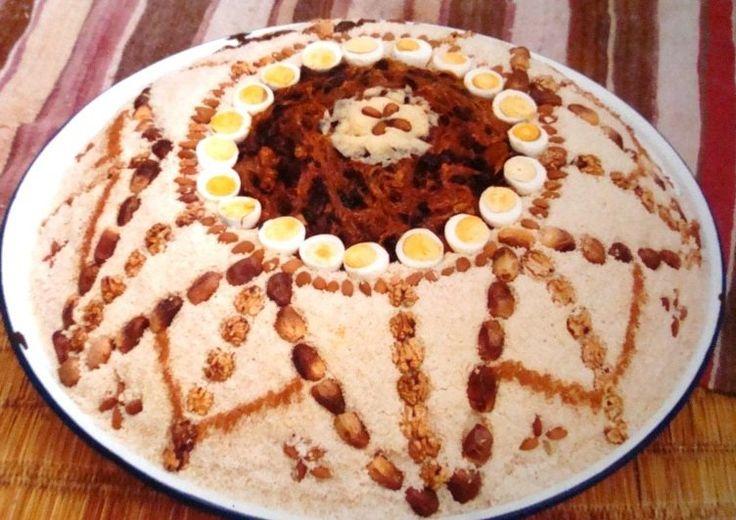 seffa. Moroccan food. Cuisine Marocaine.
