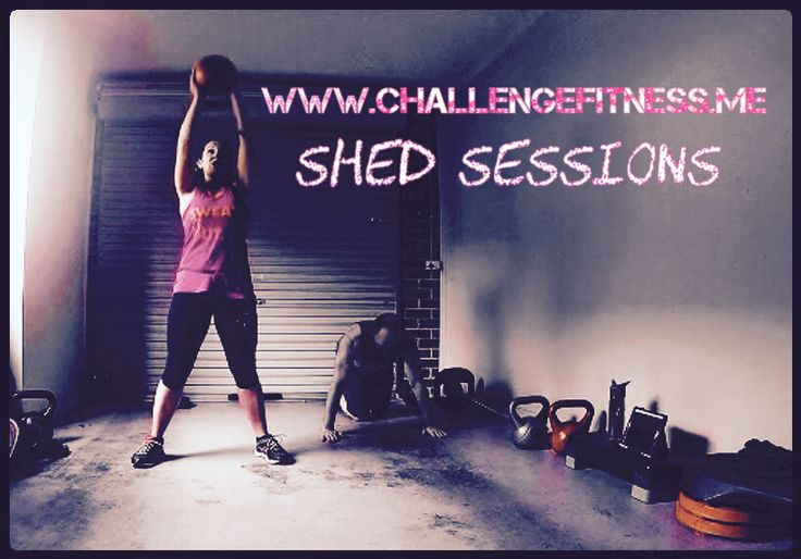 Shed sessions are the best sessions!