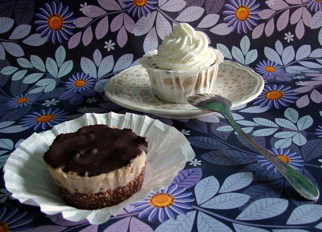 Gesztenyés karamelles cupcake