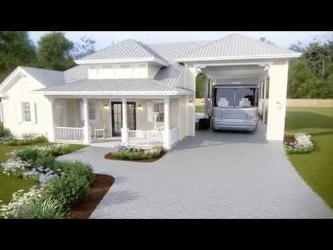 Tour an rv port home at reunion pointe youtube rv 39 ing for Rv port designs