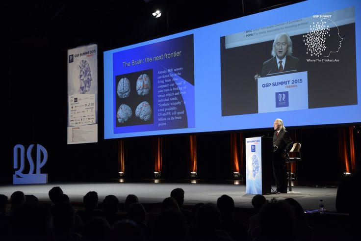 Michio Kaku was the keynote speaker of the QSP Summit 2015, raising a big ovation from the audience. #qspsummit