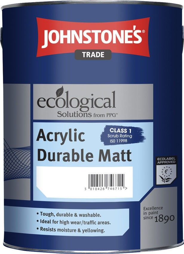 Johnstone's Acrylic Durable Matt Emulsion - The Decorating Centre http://www.thedecoratingcentre.co.uk/johnstones-acrylic-durable-matt-emulsion.html
