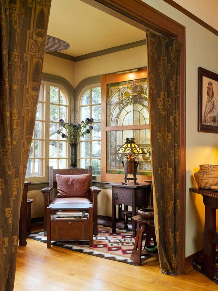 Best Arts And Crafts Period Decorating Ideas Images On