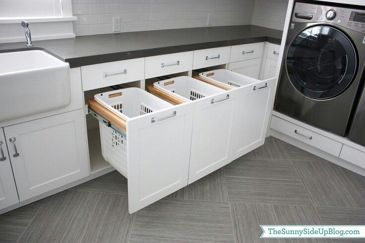 Perfect laundry organization