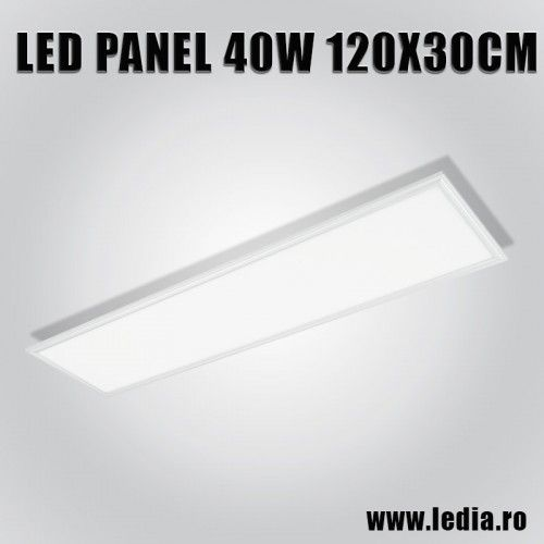 Panou LED panel 40w 4000k 120x30 cm