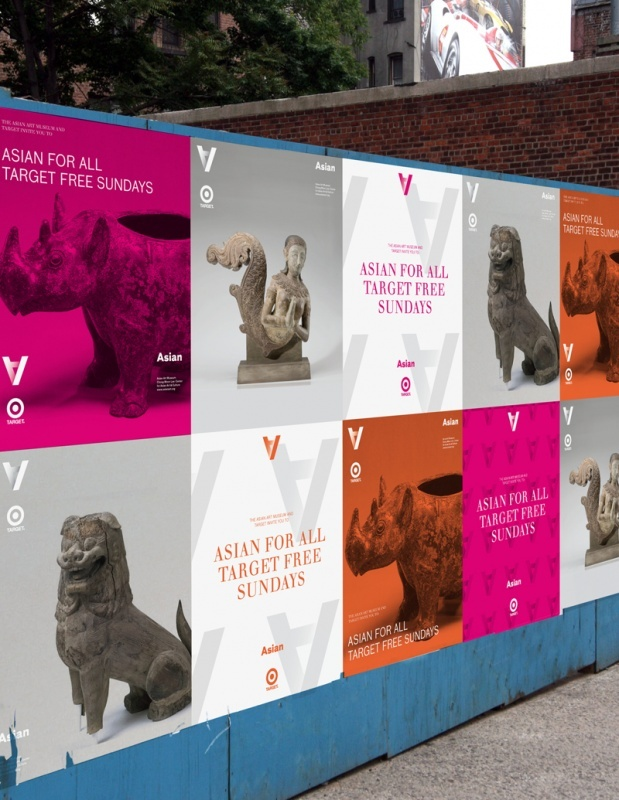 The Branding for The Asian Art Museum of San Francisco is an example of simplicity but smart use of typography.    http://www.wolffolins.com/