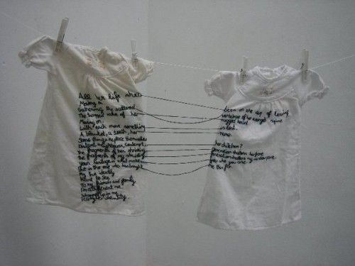 Aya Haidar, The Stitch is Lost Unless the Thread is Knotted, 2008