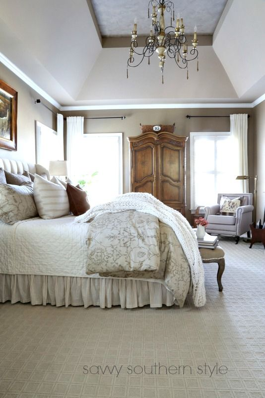 Savvy Southern Style: The Five Master Bedroom Bed Styles Of 2016