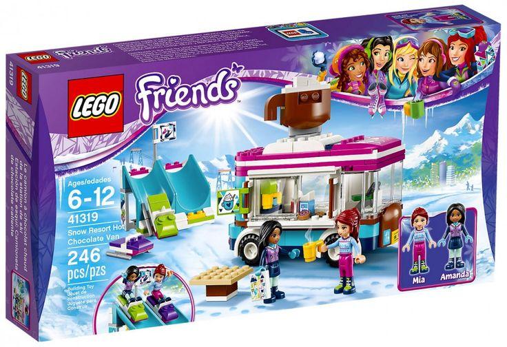 LEGO Friends 41319 : La camionnette à chocolat de la station de ski - Juin 2017
