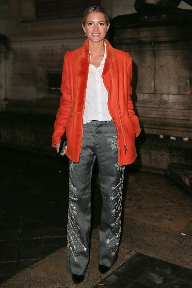 Helena Bordon arrives at the Sonia Rykiel show as part of the Paris Fashion Week Womenswear Fall/Winter 2017/2018 on March 4 2017 in Paris France