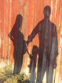 Thought this would be cool in front of a fence with the two of us, but not sure how that works...capturing a shadow!