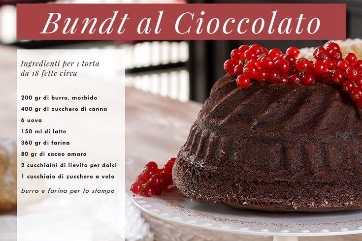 Come fare un Bundt Ricette Dolci Csaba dalla Zorza Bundt al Cioccolato