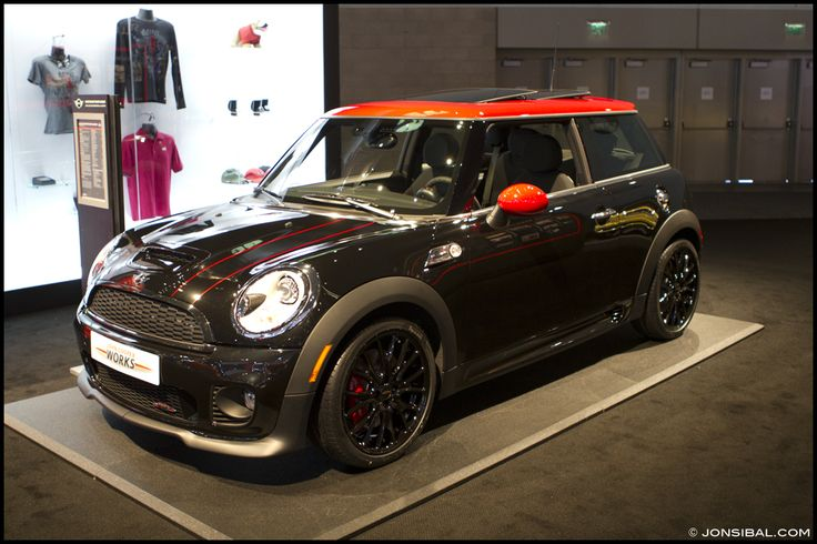 mini john cooper works black and red mini pinterest. Black Bedroom Furniture Sets. Home Design Ideas