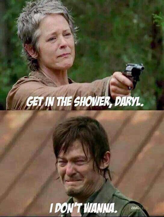 Come on Daryl (season 5, March 2015) #TheWalkingDead #DarylDixon