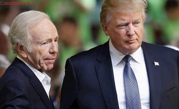 Donald Trump to interview 4 candidates to replace James Comey including Joe Lieberman
