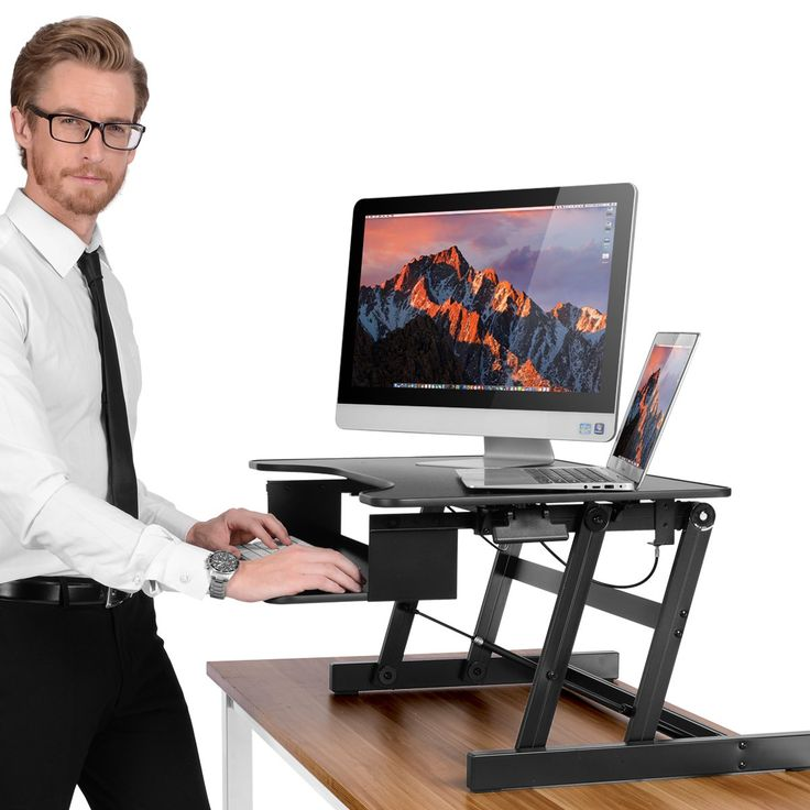 Best 25 Standing Desk Height Ideas On Pinterest
