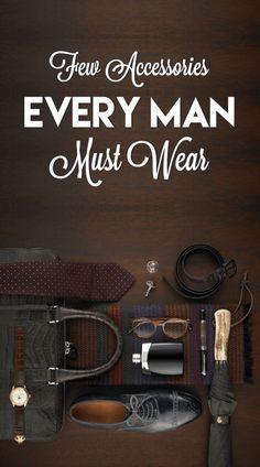 Few Accessories for every modern man⋆ Men's Fashion Blog - #TheUnstitchd