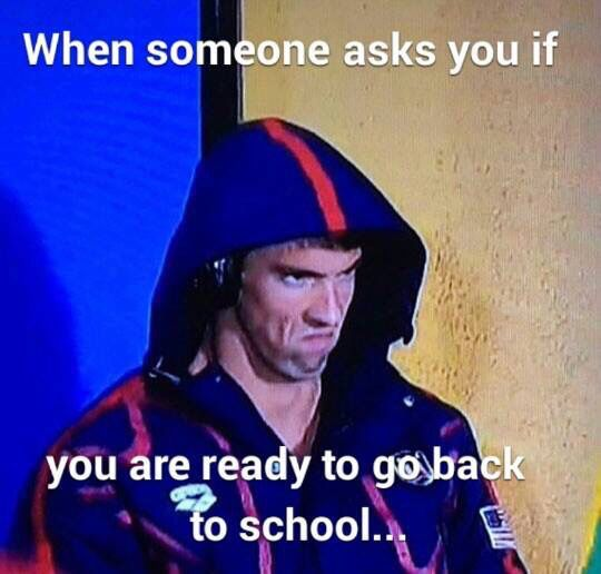 Image result for first week of school meme