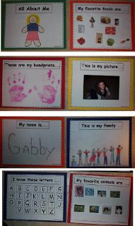 Lesson Planning with Me!: All About Me booklet