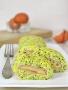 Enrollado de calabacín con jamón y queso | Cuuking! Recetas de cocina