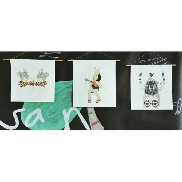 Printed artwork by as3astri