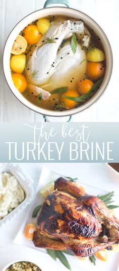 How to Brine a Turkey | thanksgiving tips and tricks | best turkey recipes | thanksgiving recipe tips | how to cook a moist turkey for thanksgiving | thanksgiving hacks | brining a turkey || Oh So Delicioso #brineaturkey #turkeybrine #thanksgivingtips #thanksgivingturkey
