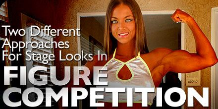 Bodybuilding.com - 2 Different Approaches For Stage Looks In Figure Competition!