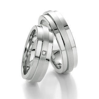 Nuevo diseño de argollas en oro blanco de 18k con diamante prince