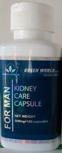 Kidney Care Capsule For Man produk unggulan Green World yang diformulasikan khusus untuk kesehatan organ Ginjal Pria, Yang aman, efektif dan tanpa efek samping!
