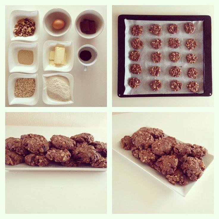 Čokoládové cookies - Fitness Recepty
