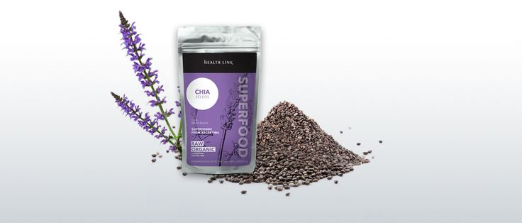 Chia semienka 100g BIO - peterns-world.com