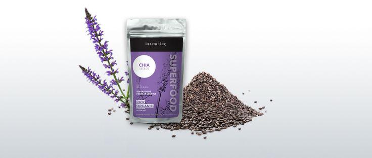 Chia semienka 100g BIO - peterns-world.com