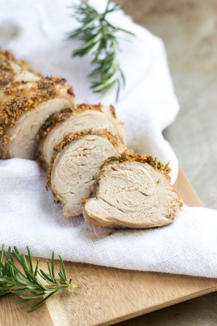 Herb-Crusted Pork Loin   The Paleo Mom