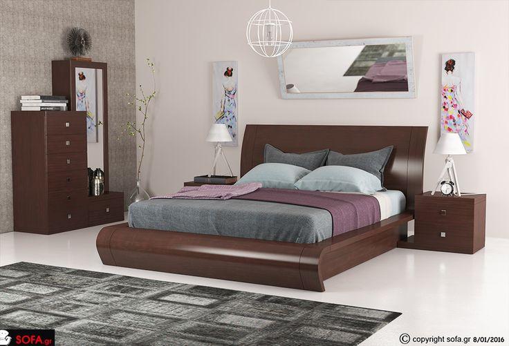 Κρεβατοκάμαρα 906 σε σοκολατί χρώμα http://sofa.gr/epiplo/krevatokamara-no-906