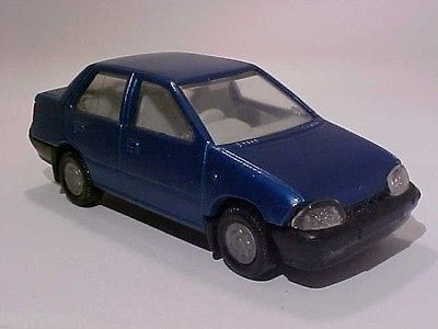 Suzuki Maruti 1000 by Centy Toys; made in India. Mint no box . Check out my other auctions AND VISIT MY EBAY MODEL CAR STORE FOR OTHER 1/43 MODELS (USE STORE SEARCH OR THE CATEGORIES) to combine and
