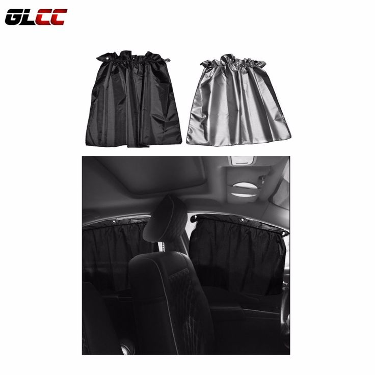 4PCS 70*52CM Black Adjustable Car Window Curtain with sucker UV Sunshade Viso auto curtain car sun shade #Affiliate