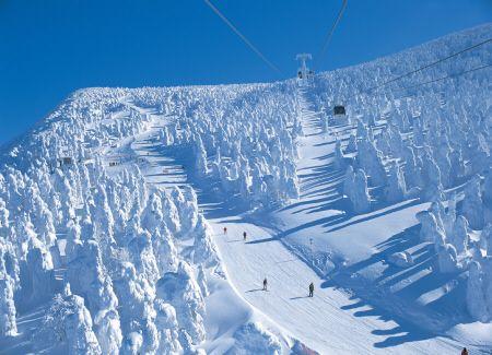 WHITE ! Resort Spotlight - Zao Onsen Skiing & Snowboarding, Yamagata, Japan