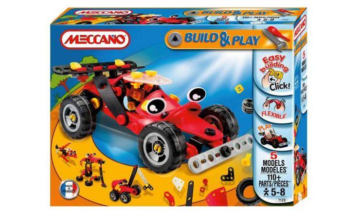Meccano Build & Play Formula 1 Car - 7120 - boys aged 5
