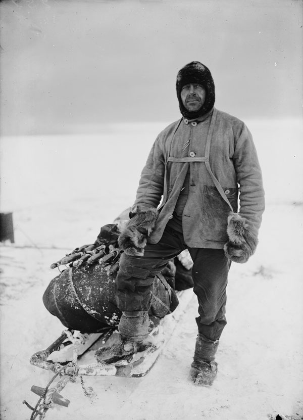 Captain Robert Falcon Scott - Naval officer and polar explorer, arguably the most pioneering British explorer of The Heroic Age of Antarctic Exploration.