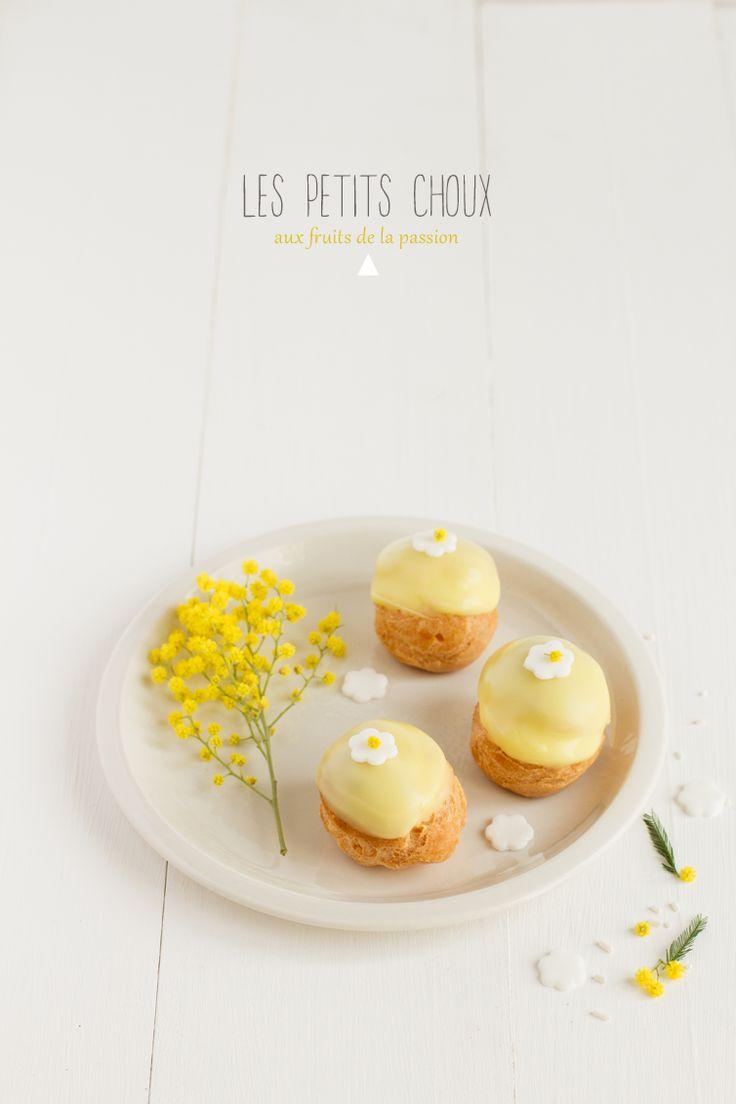 Choux aux fruits de la passion - Carnets parisiens