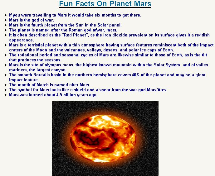 mars school projects - Google Search | Mars | Pinterest ...