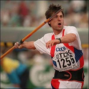 Jan Zelezny, Czech Republic, Javelin Throw 98.48 meters