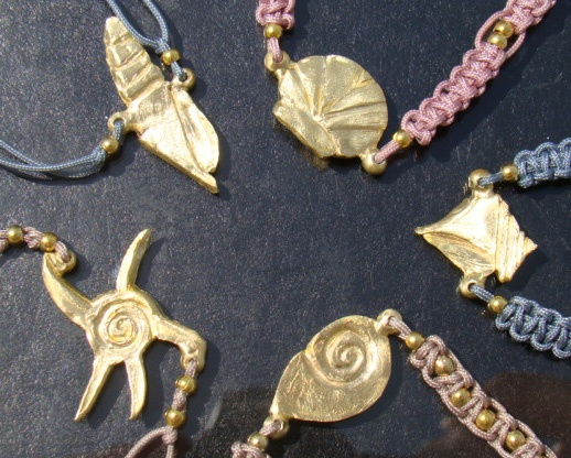 Summer Sea Shell Charms!  http://www.arwerner.com/