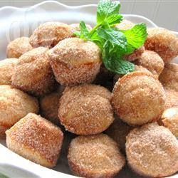 Mini-muffins façon beignets @ allrecipes.fr