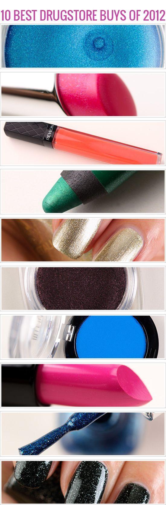 Top 10 2012: Beste Drogerie-Schönheitsprodukte #…